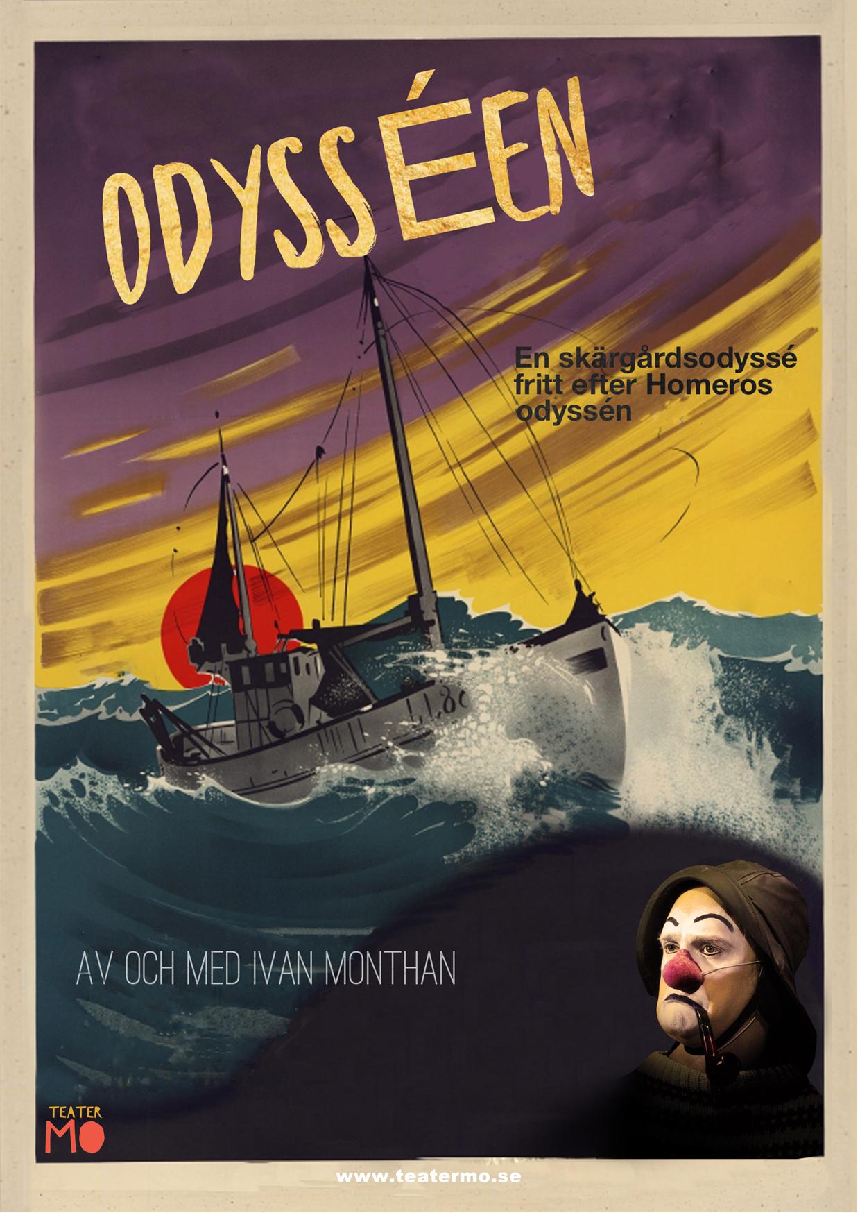 affisch till odysséen © Ivan Monthan
