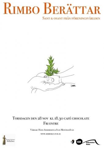 affisch till rimbo berättar © Ivan Monthan